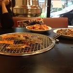Photo taken at ร้านอาหารเกาหลีซาราง by Maysaya P. on 12/22/2013