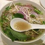 Photo taken at Restaurant Saigon by Klara K. on 1/17/2013