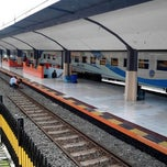 Photo taken at Stasiun Malang Kotabaru by Muhammad Umar A. on 2/12/2013