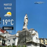 Photo taken at Piazza Francesco Muzii (Piazza Arenella) by Antonio M. on 5/6/2014