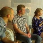 Photo taken at ZERO1 Garage HQ by danielle s. on 9/16/2012
