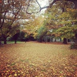 Photo taken at Ravenscourt Park by Eoghan H. on 10/28/2012