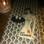 Photo taken at Cafe Candela by Manuel V. on 12/9/2012