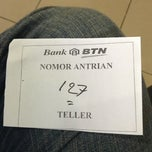Photo taken at Bank BTN by Boy K. on 7/19/2013