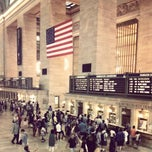 Photo taken at Grand Central Terminal by Agnieszka J. on 7/27/2013