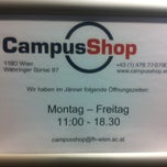Photo taken at Campus Shop FHWien by Christian T. on 1/29/2013