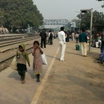 Photo taken at Gurgaon Railway Station (GGN) by Dhruv P. on 1/12/2014