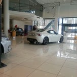 Photo taken at TOYAN Toyota Plaza by TC Egem M. on 12/22/2012
