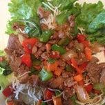 Photo taken at Lao Vientiane Restaurant by Robin C. on 3/20/2013