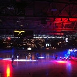 Photo taken at Olympia-Eisstadion by Manuela on 2/17/2013