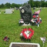 Photo taken at Evergreen Cemetery by T H. on 5/26/2013