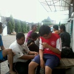 Photo taken at Dinasty Futsal and Cafe by Novhed K. on 1/1/2013