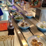 Photo taken at YO! Sushi by Darren O. on 5/6/2013
