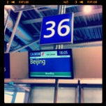 Photo taken at Gate 36 by Tõnis A. on 9/23/2012