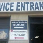 Photo taken at Larry Johnson's Buckhead Auto Repair Center by Mechelle B. on 8/23/2013