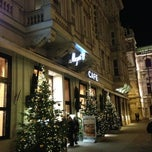 Photo taken at Café Mozart by Milena M. on 1/3/2013