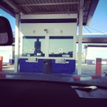 Photo taken at Gasolinera Carrefour Planet by Enric M. on 5/24/2013