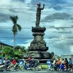 Photo taken at Patung Ngurah Rai Ubung by Henry Setiawan on 1/10/2014