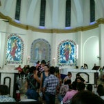 Photo taken at Igreja Matriz de Lucélia by Eliana Z. on 2/21/2013