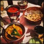 Photo taken at Indian Restaurant Shanti by Alex E. on 2/1/2013