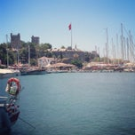 Photo taken at Bodrum Marina by Anıl A. on 7/28/2013