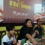 Photo taken at D'Kayangan Buffet Steamboat by Azzaliza M. on 12/9/2012