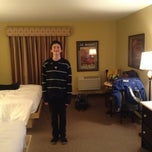 Photo taken at Hotel Baie-Saint Paul by Daniel L. on 2/16/2013