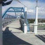 Photo taken at Wadsworth Pedestrian Bridge by Marty K. on 5/11/2013