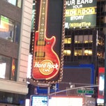 Photo taken at Hard Rock Cafe New York by Ysa L. on 2/20/2013