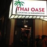 Photo taken at Thai Oase by Matthias G. on 5/18/2013
