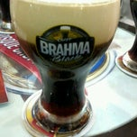 Photo taken at Quiosque Chopp Brahma by Thais C. on 12/15/2012