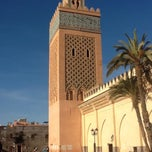 Photo taken at Saadian Tombs | قبور السعديين by Karim O. on 1/12/2013