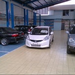Photo taken at Zirang Honda by Fahri F. on 10/23/2012