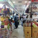 Photo taken at Pusat Grosir Senen Jaya by Kharina H. on 12/20/2012