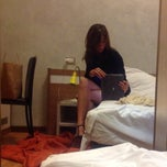 Photo taken at Hotel Fiera by Anika on 5/9/2014