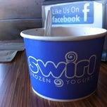 Photo taken at Swirl Frozen Yogurt by Alan G. on 9/8/2013