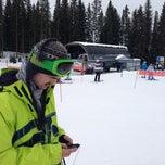 Photo taken at Elk Camp Gondola - Midstation by Presley R. on 12/24/2012