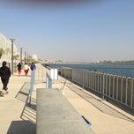 Photo taken at Sabarmati River Front by Abhishek J. on 1/20/2013