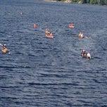 Photo taken at Long Lake by MaryEllen R. on 9/6/2014