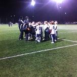 Photo taken at Preston Park Soccer Fields by Zoe B. on 1/31/2013