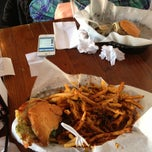 Photo taken at Pop's Burger by Caleb S. on 2/9/2013