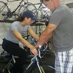 Photo taken at Peddler Bike Shop by Michael C. on 10/20/2012
