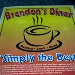 Photo taken at Brandon's Diner by Brooke B. on 12/24/2012