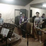 Photo taken at TnT musik studio,Kelapa Gading by Joanna l. on 4/6/2013