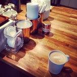 Photo taken at deVille Luxury Coffee & Pastries by Jonjo R. on 4/26/2014