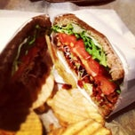Photo taken at Tiny's Giant Sandwich Shop by Joanna L. on 1/13/2013
