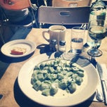 Photo taken at Malatesta Trattoria by André A. on 1/9/2013