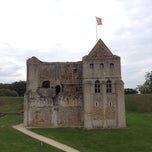 Photo taken at Castle Rising Castle by Ben F. on 10/3/2013