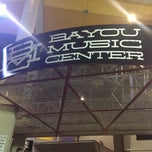 Photo taken at Bayou Music Center by Mohammed R. on 2/16/2013