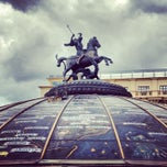 Photo taken at Манежная площадь / Manezhnaya Square by Anna L. on 6/14/2013